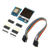 Mini D1 ESP-12F N ESP8266 Development Board + 1.6 inch TFT LCD Screen Module with DuPont Line Geekcreit for Arduino - products that work with official Arduino boards