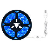 0.5/2/3M IP65 Waterproof LED Grow Light Strip Plant Growing Lamp Touch Control Ice Blue Light