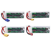 CODDAR 15.2V 4000mAh 4S 80C XT60/XT90/EC5/T-Deans Plug Optional High Discharge HV Lipo Battery for 1/10 RC Car