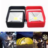 3W Portable COB Gancho Magnetic Work Hand Light impermeável ao ar livre para acampar Pesca Caminhada