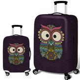 Honana Uil Elastische bagageklep Trolley kofferhoes Duurzame kofferbeschermer voor 18-32 inch hoesje Warme reisaccessoires