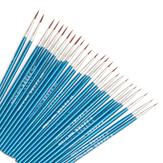 100 unidades Gancho Caneta de linha Pintura Digital Escova Caneta de desenho Pintura Profissional Pintura Artista Escova Suprimentos