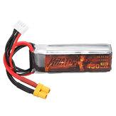 HGLRC KRATOS 11.1V 450mAh 75C 3S Lipo Bateria XT30 Plug para RC Racing Drone