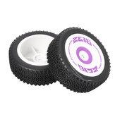 2PCS Wltoys 124019 1/12 RC Car Spare Front/Rear Tires Wheels 1826 1827 Vehicles Model Parts