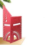 12 İnç 3D Alüminyum Alaşım Marangoz Kare Cetvel Çok İşlevli Açı Ölçüm Cetveli Ağaç İşleme Aletler Mühendisler Marangozlar için Ölçer (Metrik Sistem