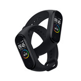 [BT 5.0] Original Xiaomi Mi band 4 AMOLED Färgskärm Wristband 5ATM Long Standby Smart Watch International Version
