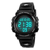 SKMEI 1266 Reloj para niños al aire libre Reloj cronógrafo multifunción deportivo para deportes Impermeable