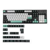Conjunto de teclas do jardim botânico de 137 teclas Cherry Profile Sublimation PBT Keycaps para teclados Mecânico