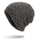 Berrettoperberrettidivellutolavorato a maglia per uomo