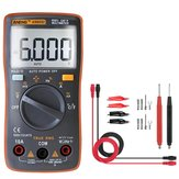 ANENG AN8002 Orange Digital True RMS 6000 Counts Multimeter AC/DC Current Voltage Frequency Resistance Temperature Tester ℃/℉ + Test Lead Set