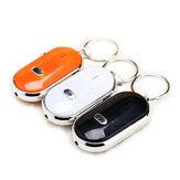 Whistle Key Finder Schlüsselbund Sound LED Mit Whistle Claps