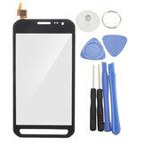 Samsung Galaxy Xcover 3 SM-G388F için Dokunmatik Ekran Değiştirme Meclisi + Aletler