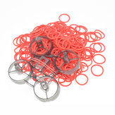 200 PCS 20mm Diameter Rubber Band Battery Fixed for UR65 UK65 Snapper6/7 Mobula7 FPV Racing Drone