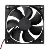 Ventilador de 12V DC 12025 Ventilador de refrigeración Ventilador ultra silencioso de 12CM