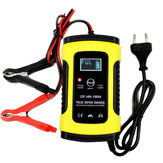 FOXSUR 12V 5A Pulse Repair LCD Batterie Chargeur Pour Voiture Moto Agm Gel Wet Acide De Plomb Batterie