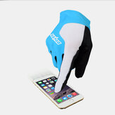 Unisex Non-slip Full Finger Breathable Elastic Outdoor Riding Cycling Gloves