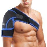 Verstellbare Schulterstütze aus Neopren Oberarmgurtwickel Sportpflege Einzelschulterschutzgurt