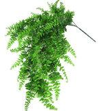 Yapay Asılı Çelenk Vine Yaprak Yeşillik Çelenk Bitkiler Düğün Dekor