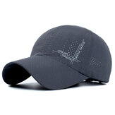 Mens Summer Mesh Strapback Dad Hats Sport Snapback Quick Dry Baseball Caps