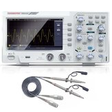 HANMAKET DOS1102 110MHz Digital Oscilloscope 2channel Oscillograph 1Gsa/s 7'' Tft LCD+ Osciloscope Kit Better Than Ads1102cal