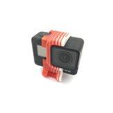 URUAV TPU Shock Mount Holder Anti Vibration Mount for Gopro 5/6/7 Sport Camera