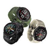 [400mAh Batterie] BlitzWolf® BW-AT2 Moniteur de fréquence cardiaque 24h Pression artérielle Bracelet de mesure d'oxygène Montre personnalisée Visages Fun Small Game Sport Style Smart Watch