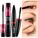 Zwarte zijden mascara make-up set wimpers extensie 3D-vezel