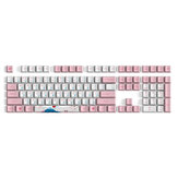 AKKO World Tour 162 Keys Keycap Set Tokyo R2 OEM Profile PBT Sublimation Sakura Keycaps for Mechanical Keyboard