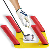 Golf Alignment Trainer Removable Aid Swing Training Speed Trap Practice Base Outdoor Sport Golf Accessories
