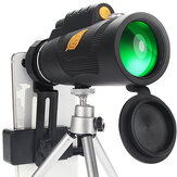 12X50 Phone Telescope Portable Outdoors Telescope Phone Lens Light Phone Telescope with Tripods Phone Clip