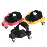 Protection mobile de sécurité de construction de travail flexible de protection de construction de travail de genou de roues de roulement