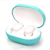 Portable Solid Color Silicone Case Earphone Protection Cover Storage Box for Airdots