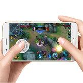 Bakeeyスマートフォンタブレットのための電気メッキ携帯電話ゲームパッドジョイスティックゲームコントローラ