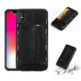 Custodia protettiva con slot multi-card in pelle PU per iPhone X e 6 / 6Plus e 7 / 7Plus e 8 / 8Plus
