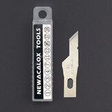 NEWACALOX 20Pcs Roestvrijstalen Messen PCB Reparatie Films Gereedschap Inkeping Accessoires Scribing Scheermes Graveren Houtsnijwerk Mes Art