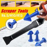 Ferramenta de selante de silicone Caulk Remover pá Scraper Grouting Conjunto de acabamento de mástique