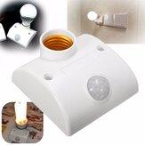 E27 PIR Infrared Motion Sensor LED Light Lamp Holder Control Switch