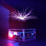 BNC Tesla High-frequency Electric ARC Music Tesla Coil with 48V 2A Power Supply