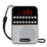 LCD Digital FM Pocket Radio Speaker USB TF Card MP3 Music Player
