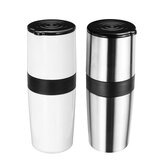 4 in 1 Portable Hand Bean Mill Professional Manual Coffee Grinder Cup Maker Machine