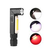 XANES3189AXPG+COBLED Белый свет + красный белый 5 режимов USB перезаряжаемый рабочий свет На открытом воздухе Кемпинг Аварийный LED рабочий свет