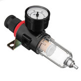 Airbrush Compressor Air Pressure Regulor Gauge Water Trap Moisture Filter Hose