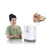 JUREN DZ-1W AC110V / 220V 1-5L 90-96% a 1L / min Concentrador de oxígeno ajustable con función de nebulización Generador de oxígeno Máquina de oxígeno para el hogar