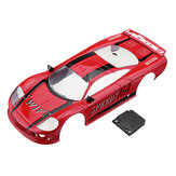 Firelap Sports Car RC Car Body Shell For 1/28 Das87 Wltoys Mini-Q RC Model Vehicle Red