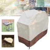 150x56x116CM Grill grilla Wodoodporna osłona Patio na zewnątrz Patelni grill Piecyk przeciwdeszczowy