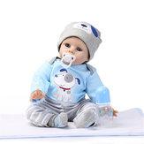 NPK POP 22 '' reborn siliconen handgemaakte levensechte babypoppen realistische pasgeboren speelgoed