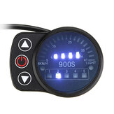 24V 36V 48V 5pin LED Display Speed Meter Control Panel For E-bike Electric Scooter LED900S