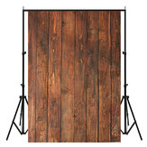 5x7FT Vinyl Retro Wood Wall Floor Photography Backdrop Background Studio Prop