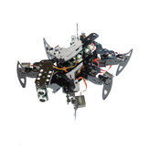 Adeept Hexapod Spider Robot Kit forArduino with Android APP and Python GUI/Spider Walking Crawling Robot/STEAM Robotics Kit with PDF Manual