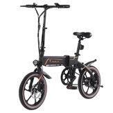 [EU Direct] Niubility B16 10.4Ah 36V 350W 16 дюймов Складной мопед Велосипед 25 км / ч Максимальная скорость 40-50 км Диапазон пробега Электрический велосипед E-bike